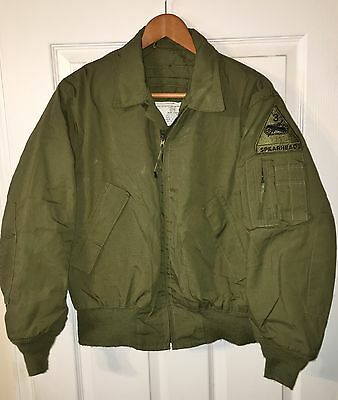 US ARMY ARAMID COLD WEATHER JACKET - MEDIUM  - MILITARY - 3rd ARMORED - TANKER