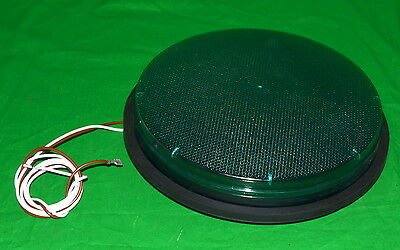 """*Lot of 25* 12"""" GE Green LED Traffic Light DR6-GTAAN-17A *Used, Working*"""