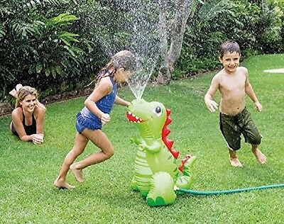 Intex Water Sprayer Happy Dino Kids Children Outdoor Garden Fun Summer To