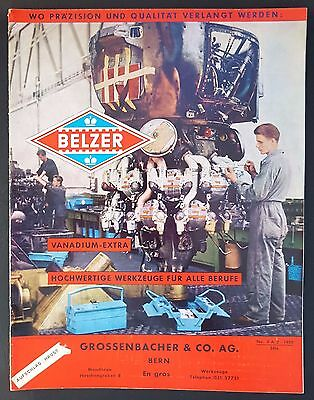 Belzer Catalogue 1959 Outillages Automobiles Allemand Tbe