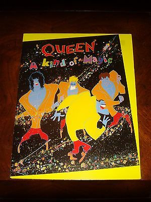 "Rare QUEEN FREDDIE MERCURY ""A KIND OF MAGIC"" CAPITOL RECORDS 1986 PRESS KIT"