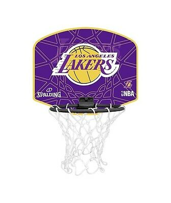 Mini Panier de Basket-Ball NBA Los Angeles Lakers