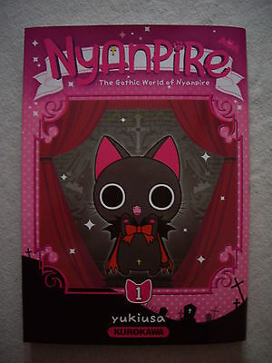 Nyanpire tome 1 manga couleur grand format comme neuf !!!