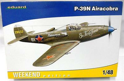 1/48 - Eduard - BELL P-39N Airacobra in Soviet Service - 2nd Hand Kit complete -
