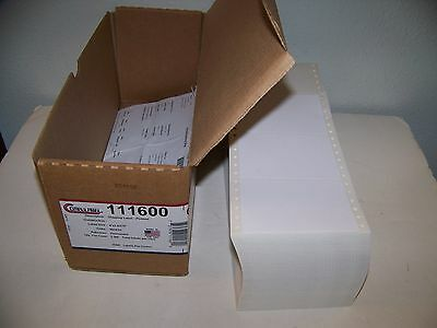 Apx. 4x3 Labels Continuous Feed Pin Feed Tractor Feed Dot Matrix