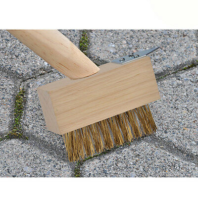 Broom Brush Garden Scraper Steel Grout Cleaner Wire Scratch NEW