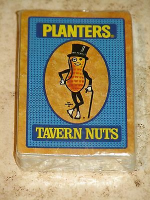 Planters Peanuts Tavern Nuts Deck of Playing Cards Unopened Hoyle Brand