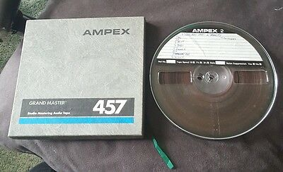 Ampex 7 x 1/4 inch x 1800ft tape reel