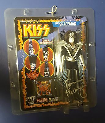 """Sonic Boom Tommy Thayer KISS 8"""" figures toy signed autograph MOC mego style doll"""