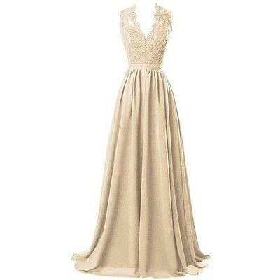 Marsen floor length evening gown, size 2, champagne/gold color.