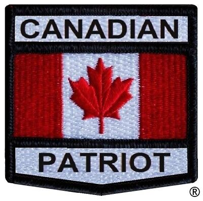 Canadian Patriot Crest Patch - ALL SALES SUSPENDED UNTIL MAY 2018