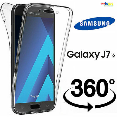 Custodia Samsung GALAXY J7 2016 Cover Fronte Retro 360° Full Silicone