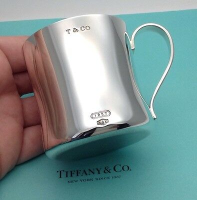 Tiffany & Co. Sterling Silver 1837 Baby Christening Cup Mug RRP £470