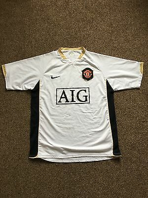 Classic Manchester United away shirt Mens Small
