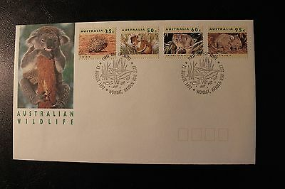 1992 Australian Wildlife Set Of Stamps First Day Cover - Lot 1