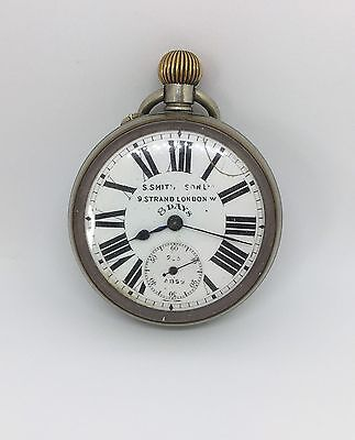 S Smith & Sons Pocket Watch Working Order