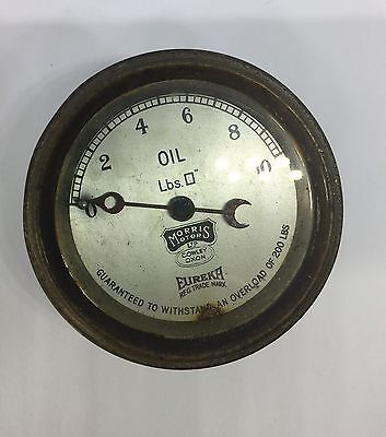 Eureka Morris Motors Cowley Oxon Oil Gauge