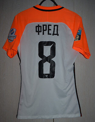 Shakhtar Ukraine Match Un Worn Issue Football Shirt Jersey Nike #8 Fred Brazil