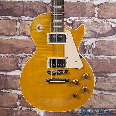 2013 Gibson Les Paul Standard Electric Guitar Translucent Amber w/OHSC
