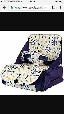 munchkin travel booster seat Unused