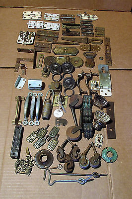 Mixed metal hardware vintage and new repurpose reuse