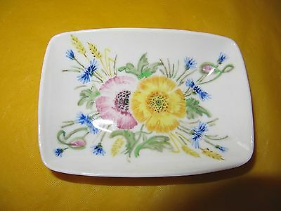 """VINTAGE BRANKSOME MIRIAM YELLOW oblong small BOWL/DISH long 4.5"""",  in VGC"""