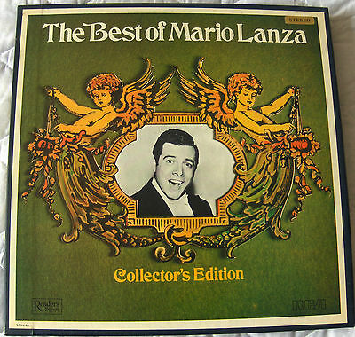 Readers Digest - The Best Of Mario Lanza - 6 Lp Vinyl Box Set - Great Condition