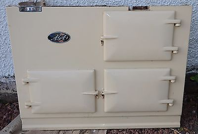 Aga Deluxe Cooker 2 oven Cream Oil Fired Dismantled.