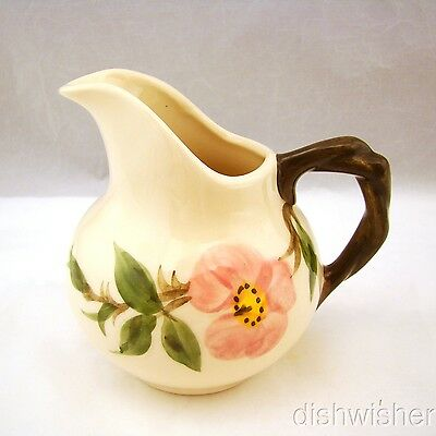 "Franciscan DESERT ROSE (USA) Creamer 4 1/2"" x 4 1/2"" EXCELLENT"