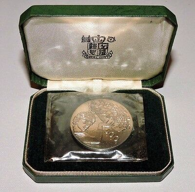 Cyprus 1970 Fao 500 Mils Silver Proof In Original Pack 1 Ounce Rare!