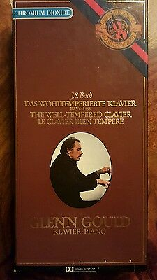 Very rare Glenn Gould - The well tempered clavier (holland 1981)