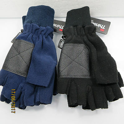 THINSULATE FLEECE INSULATION FINGERLESS WINTER/SPRING GLOVES 40g...BRAND NEW