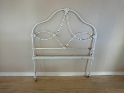 Antique Cast Iron Bed Head