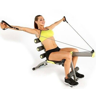 Nearly new Wonder Core2 unisex with Builtin Twisting Seat & Rower Ab