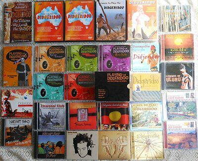 Didgeridoo Tuition DVDs/CDs and Didgeridoo Music CDs