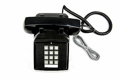 Meticulously Refurbished Vintage Touch Tone Telephone - ITT/CORTELCO - Black