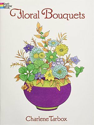 Floral Bouquets Coloring Book (Dover Nature Coloring Book) (Paperback)