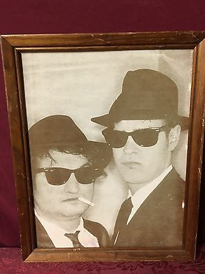 The Blues Brothers 12X15 Framed B&W Picture (No Glass) John Belushi Dan Akroyd