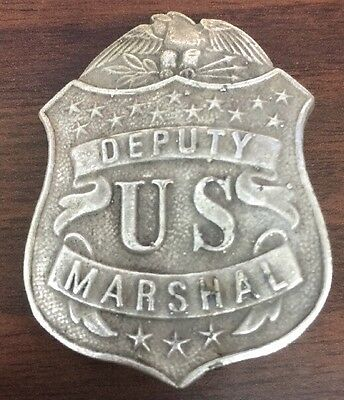 Deputy US Marshal shield with eagle WESTERN BADGE OF THE OLD WEST
