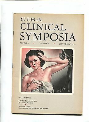 Vintage Medical Magazine CIBA CLINICAL SYMPOSIA Jul/Aug 1951 Dr Netter illus