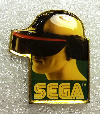 *RARE* SEGA VR Promotional Lapel PIN, 1993 CES Virtual Reality Headset PROTOTYPE