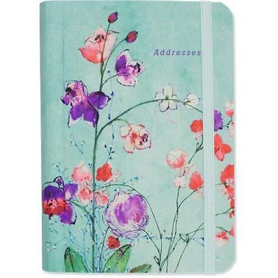 FREE 2 DAY SHIPPING: Fuchsia Blooms Address Book (Hardcover-spiral)
