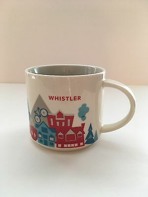 2014 Starbucks Whistler You Are Here Collection Mug Cup 14 fl oz Canada