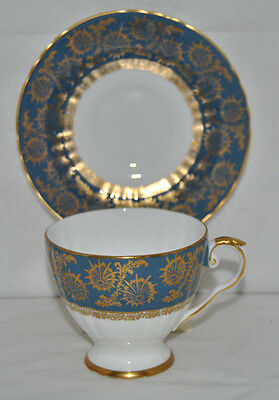 Outstanding Vintage Royal Grafton, H1644 Fine Bone China Tea Cup And Saucer