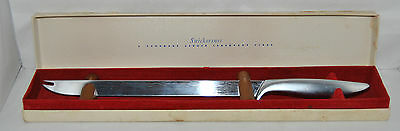 """Outstanding Vintage Hand Made GERBER """"Snickersnee"""" Meat Carving Knife"""