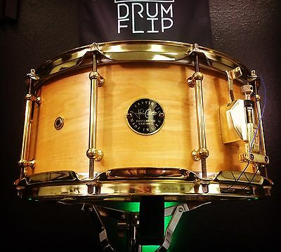 """Craviotto 14x6.5"""" One Ply Maple Snare Drum!"""