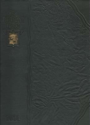 *☆* United States Naval Academy Lucky Bag Book Year Log 1931 *☆*