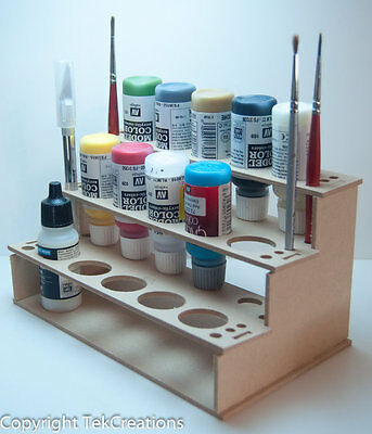 Model Paint Rack / Holder for Wargame or Miniature Bottle Paints