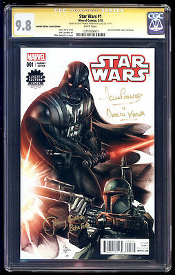 Star Wars #1 Limited Edition Comix SS CGC 9.8 Prowse & Bulloch Signature Series