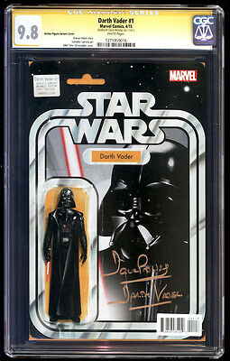 Darth Vader #1 Action Figure SS CGC 9.8 David Prowse Signature Series Star Wars